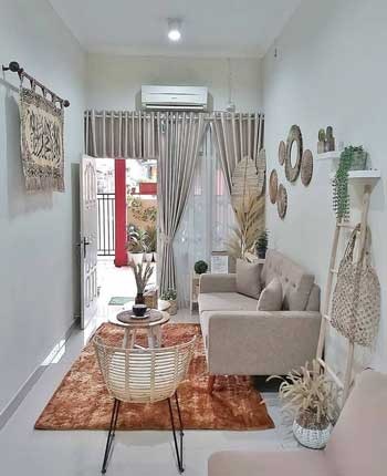 Inspirasi Desain Interior Ruang Tamu Minimalis - Ruang Tamu D