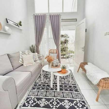 Inspirasi Desain Interior Ruang Tamu Minimalis - Ruang Tamu E