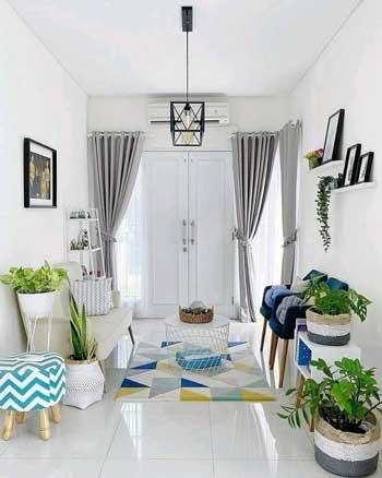 Inspirasi Desain Interior Ruang Tamu Minimalis - Ruang Tamu F