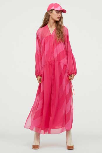 Inspirasi Dress Wanita Terbaru - Voluminous Chiffon Dress