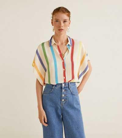Inspirasi Motif Pakaian Casual Wanita - Motif garis-garis