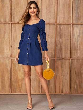 Inspirasi Warna Outfit Sesuai Dengan Warna Kulit Sawo Matang - navy blue