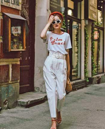 Inspirasi Warna Outfit Sesuai Dengan Warna Kulit Putih - Off White