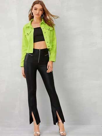 Inspirasi Warna Outfit Sesuai Dengan Warna Kulit Kuning Langsat - hijau