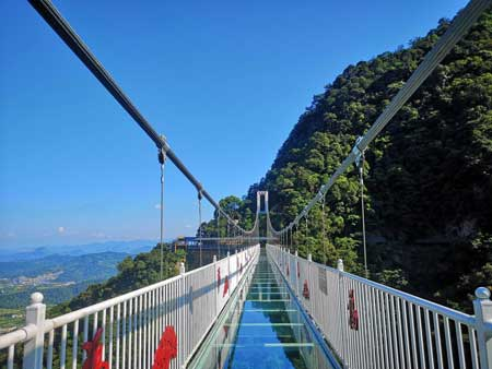 Jembatan Kaca - The Yunmenshan Glass Bridge