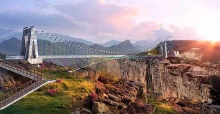 Jembatan Kaca - Yinglong Gorge Glass Bridge