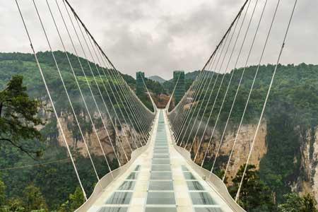 Jembatan Kaca - Zhangjiajie Glass Bridge