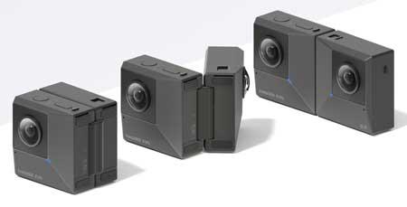 Kamera 360 Terbaik - Insta360 Evo
