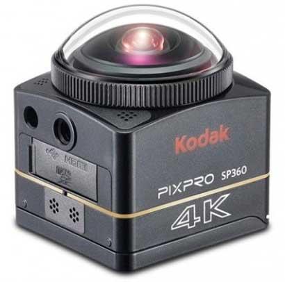 Kamera 360 Terbaik - Kodak Pixpro SP360 4K