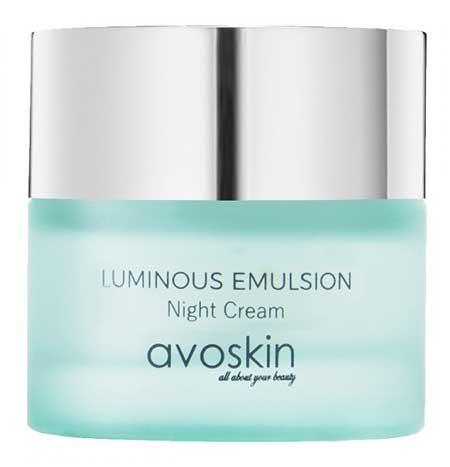 Krim Malam Terbaik - Avoskin Luminous Emulsion Night Cream
