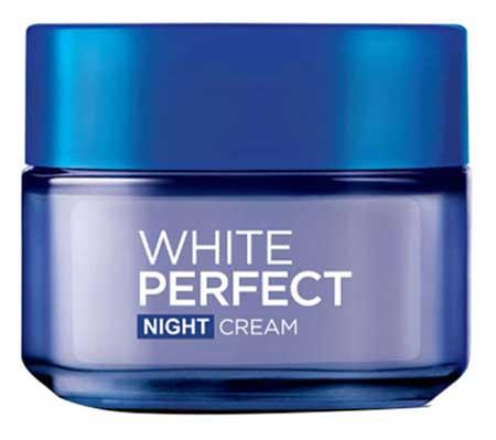 Krim Malam Terbaik - L'Oreal White Perfect Night Cream