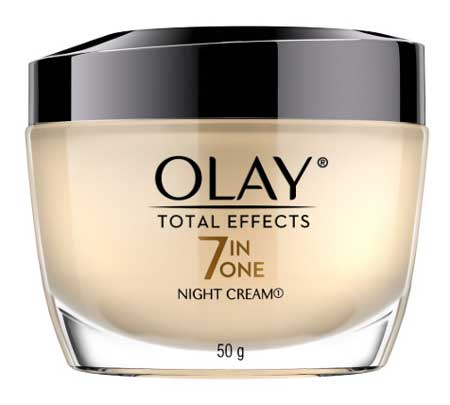 Krim Malam Terbaik - Olay Total Effects 7 in 1 Night Cream