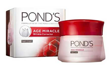 Krim Malam Terbaik - Pond's Age Miracle Wrinkle Corrector Night Cream
