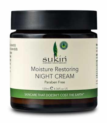 Krim Malam Terbaik - Sukin Moisture Restoring Night Cream