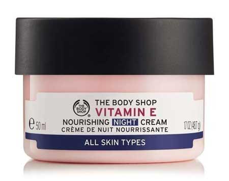 Krim Malam Terbaik - The Body Shop Vitamin E Nourishing Night Cream
