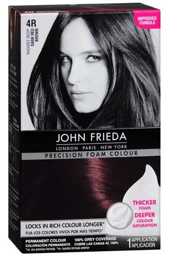 Merk Cat Rambut - John Frieda Precision Foam Colour