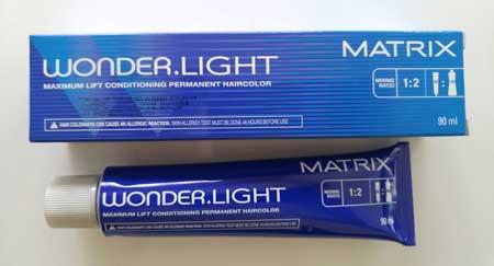 Merk Cat Rambut - Matrix Wonderlight