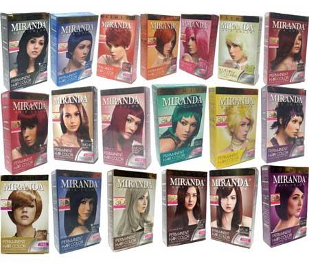 Merk Cat Rambut - Miranda Hair Color