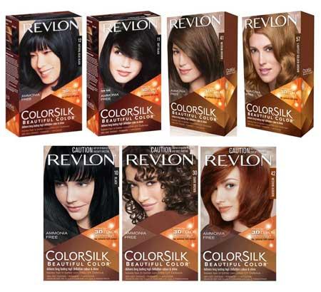 Merk Cat Rambut - Revlon Colorsilk Beautiful Color