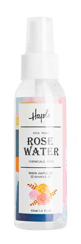 Merk Face Mist Terbaik - Haple Pure Rose Water