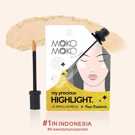 Produk Make Up Lokal Terbaik - Moko-moko My Precious Highlight Pure Radiance