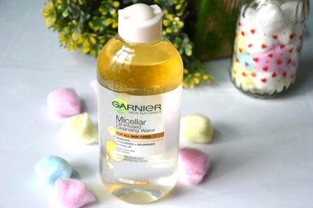 Rekomendasi Makeup Remover Yang Bagus - Rekomendasi Makeup Remover Yang Bagus - Garnier Micellar Oil-Infused Cleansing Water