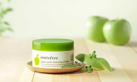 Rekomendasi Makeup Remover Yang Bagus - Innisfree Apple Seed Cleansing Oil Balm