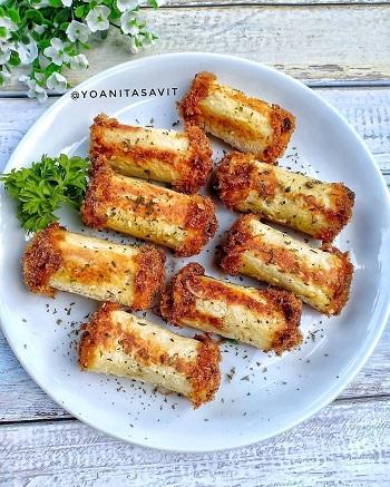 Resep Kreasi Roti Tawar - Roti Tawar Gulung Abon