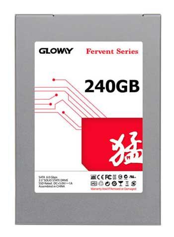 SSD Terbaik - Gloway SSD Fervent Series 240 GB