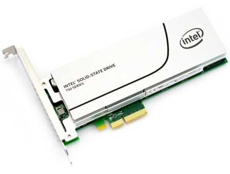 SSD Terbaik - Intel SSD 750 400gb