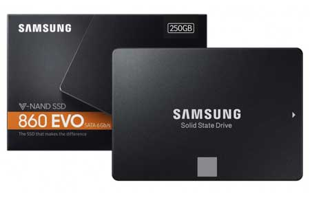 SSD Terbaik - Samsung SSD 860 EVO