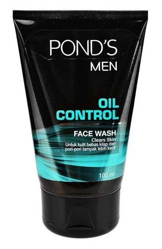 Sabun Cuci Muka Pria Terbaik - Pond's Men Oil Control Face Wash