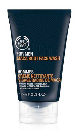 Sabun Cuci Muka Pria Terbaik - The Body Shop Men Maca Root Face Wash