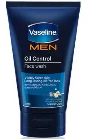 Sabun Cuci Muka Pria Terbaik - Vaseline Men Face Oil Control Face Wash