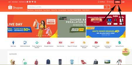 Cara Buka Toko Online di Shopee