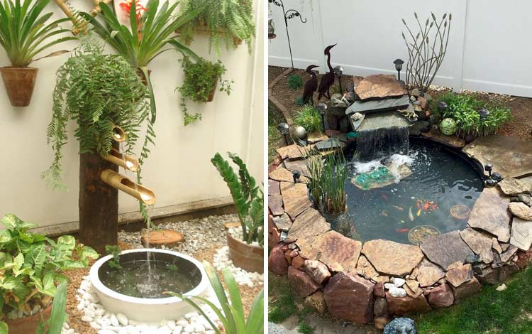 Inspirasi kolam kecil