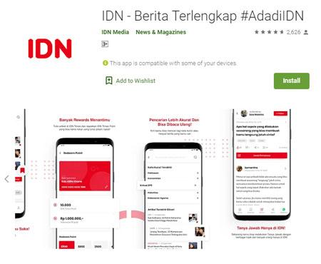 Aplikasi Penghasil Uang Terbaik dan Aman - IDN App