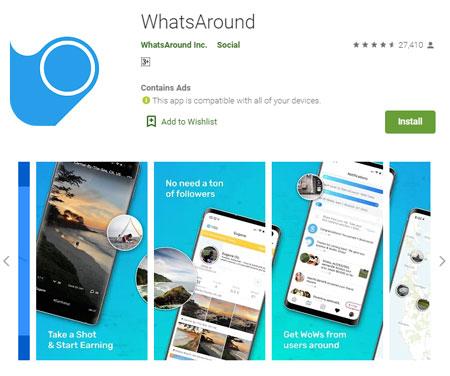 Aplikasi Penghasil Uang Terbaik dan Aman - WhatsAround