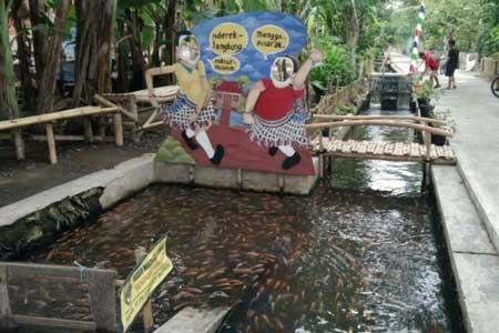 6 Kampung di Indonesia Berhasil Mengubah Selokan Kotor - Dusun Singosaren