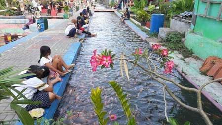 6 Kampung di Indonesia Berhasil Mengubah Selokan Kotor - Kampung Mrican