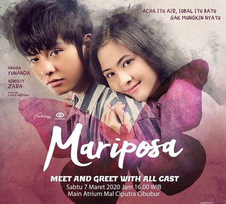 Daftar Film Bioskop Yang Tayang Bulan Agustus 2020 - Mariposa