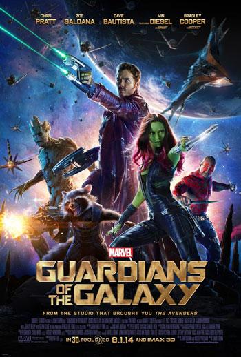 Daftar Film Tentang Luar Angkasa Terbaik Sepanjang Masa - Guardian of The Galaxy (2014)
