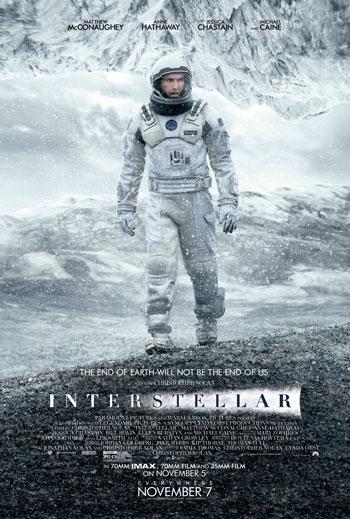 Daftar Film Tentang Luar Angkasa Terbaik Sepanjang Masa - Interstellar (2014)