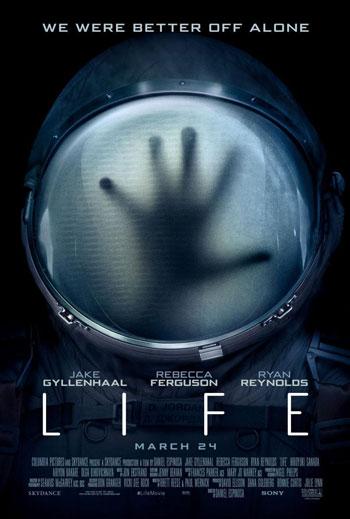 Daftar Film Tentang Luar Angkasa Terbaik Sepanjang Masa - Life (2017)