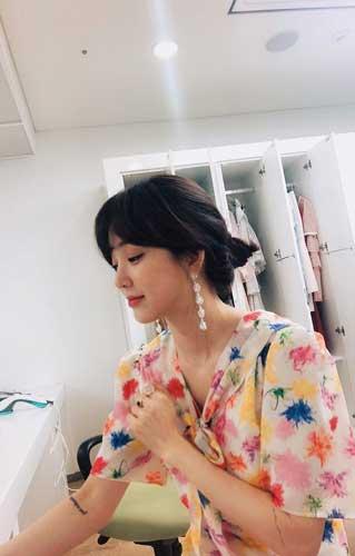 Deretan Artis Wanita Korea Yang Bertato - Jung Ryeo Won