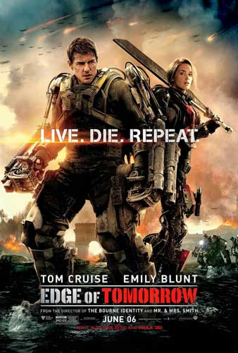 Film Alien Terbaik - Edge of Tomorrow (2014)