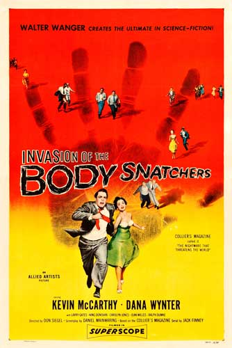 Film Alien Terbaik - Invasion of the Body Snatchers (1956)