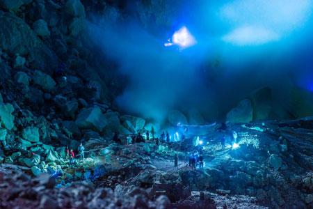 Gunung Di Indonesia Dengan Pemandangan Yang Indah - Gunung Ijen