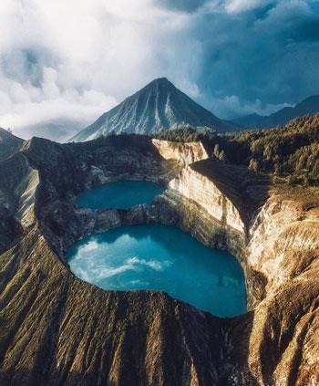Gunung Di Indonesia Dengan Pemandangan Yang Indah - Gunung Kelimutu