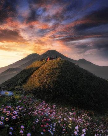 Gunung Di Indonesia Dengan Pemandangan Yang Indah - Gunung Prau
